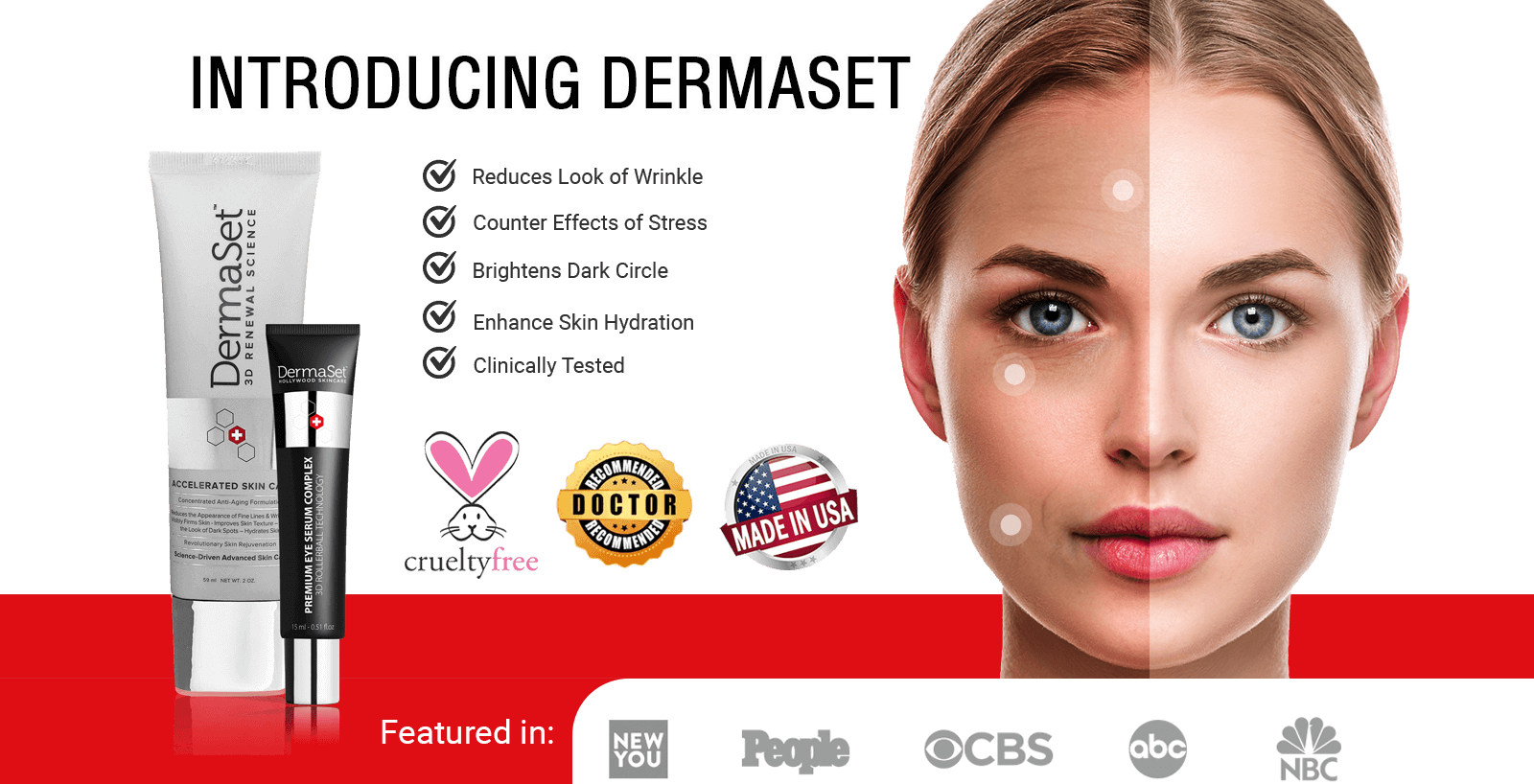 DermaSet 3D Renewal Science